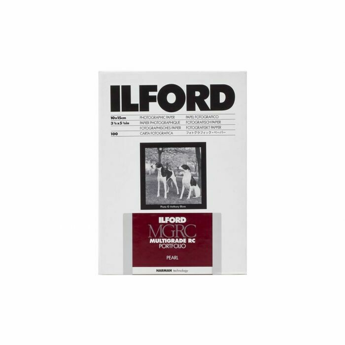 Ilford Multigrade RC Portfolio 255 g/m², 44K pearl, 10x15 cm - 4x6 Inch, 25 sheets