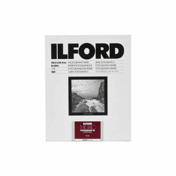 Ilford Multigrade RC Portfolio 255 g/m², 44K pearl, 17.8x24 cm - 7x9.5 Inch, 100 sheets