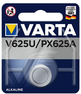 VARTA PHOTO V 625 U  Spezialbatterie für Foto und Blitz Spannung: 1,5 V Kapazität: 200 mAh
