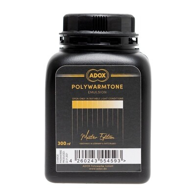 ADOX Polywarmtone Emulsion - Gradation: Normal 300 ml Concentrate + hardener + spare bottle