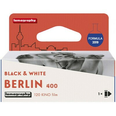 Lomography Berlin 400 Professional - Format 120 expired 08/2022 - delivery time 1-4 weekdays