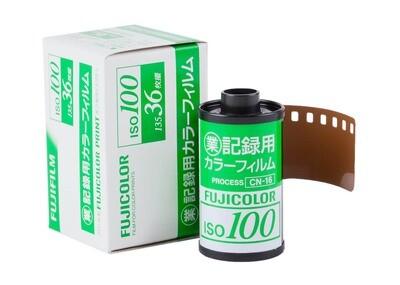 FUJI Fujicolor Industrial 100 135/36  Expired 10/2020