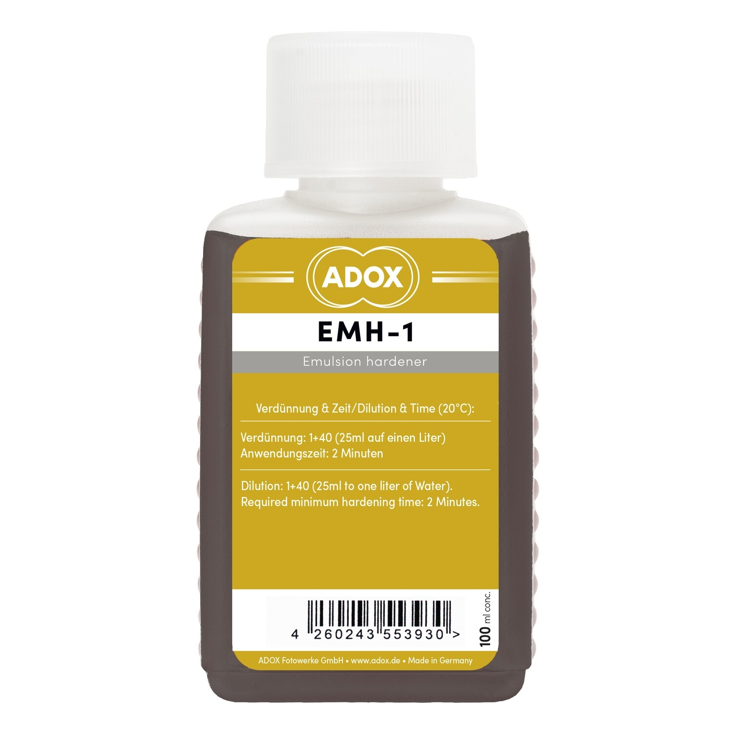 ADOX EMH-1 Emulsion Hardener 100 ml Concentrate