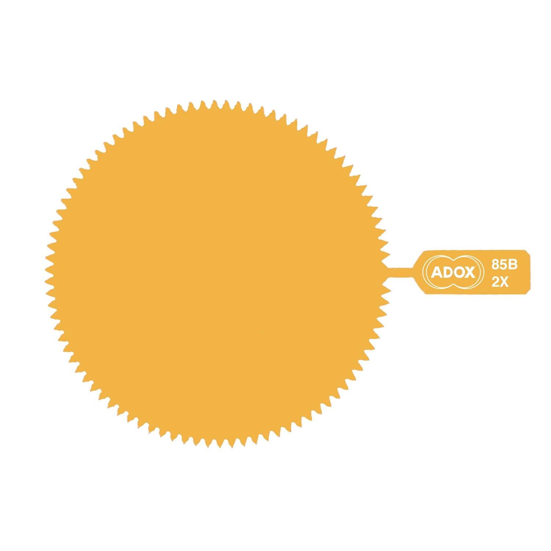 ADOX M39 *SNAP-ON* Gelatinefilter 85B Tungsten Conversion