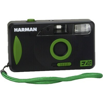 HARMAN technology EZ-35 Reusable 35mm Film Camera with One Roll of Film
