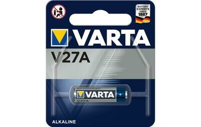 VARTA V27A 12V photo battery - (A27, 27A, LR27A, V27A, K27A, GP27A and L828)