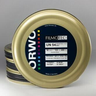 ORWO Black-and-White negative UN54 Film (16mm, 122m Roll)