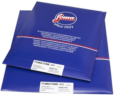 FOMA Fomatone MG 131 Natural Gloss 24.1x30.5cm 50 Blatt