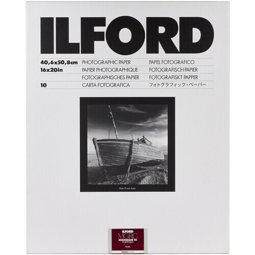 Ilford Multigrade RC Portfolio 255 g/m², 44K pearl, 40.6x50.8 cm - 16x20 Inch, 10 sheets
