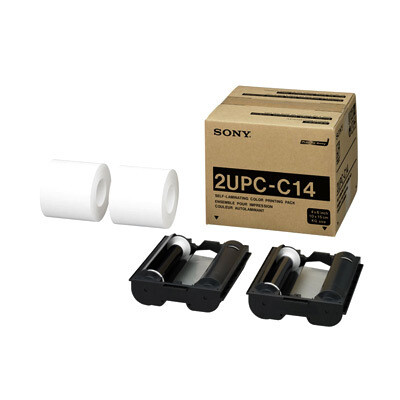 """Fotolusio (for Sony) DNP 4 x 6"""" Print Pack For DS-SL10, Sony UP-CR10L, UP-CX1"""