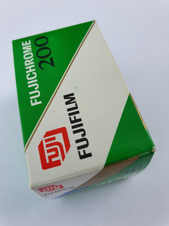 Colour slide film development 35mm without framing