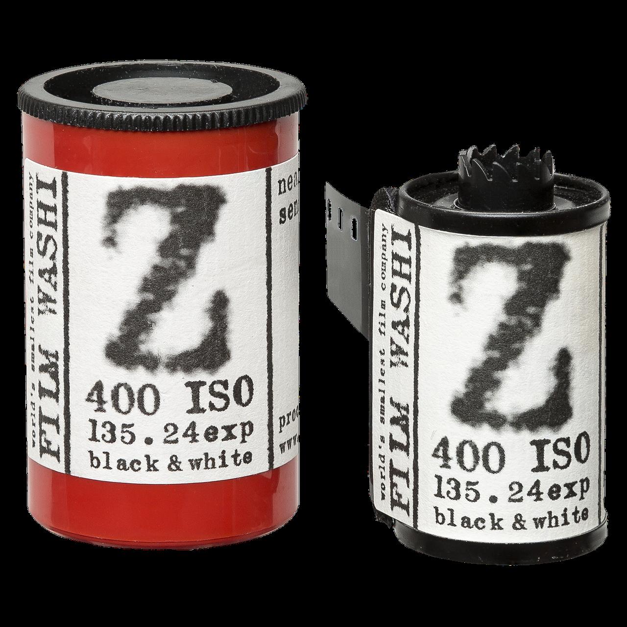 """WASHI  Film """"Z"""" 400 ISO 135-24 Black & White"""