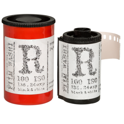 WASHI R Black & White Reversal Film Type R 100 ASA 135-24