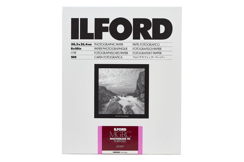Ilford Multigrade RC Portfolio 255 g/m², 1K glossy, 30.5x40.6 cm - 12x16 Inch, 10 sheets