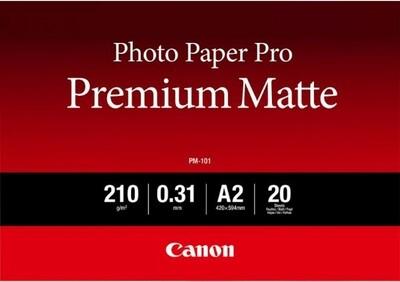 Canon PM-101 Photo Paper Pro Premium Matte A2, 20 Sheets - on order