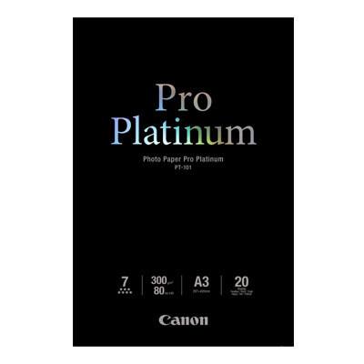 Canon PT-101A3+ Photo Paper Pro Platinum 300g/m2, A3 20 sheets (8675B006)