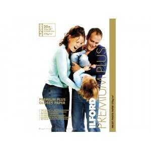 Ilford Fotopapier Hochglanz Best Premium Plus A3+ (32,9 x 48,3 cm) 20 Blatt