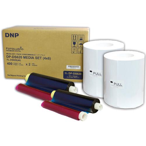 DNP Media Kit for DS 620 10x15cm 800 photos