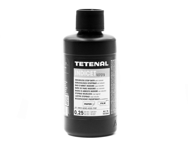 Tetenal Indicet stop bath odourless liquid with indicator 250ml (101044)