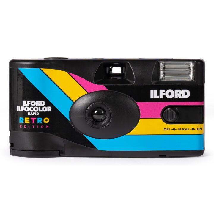 Ilford Ilfocolor Rapid Retro Single Use Camera - expired 11/2022