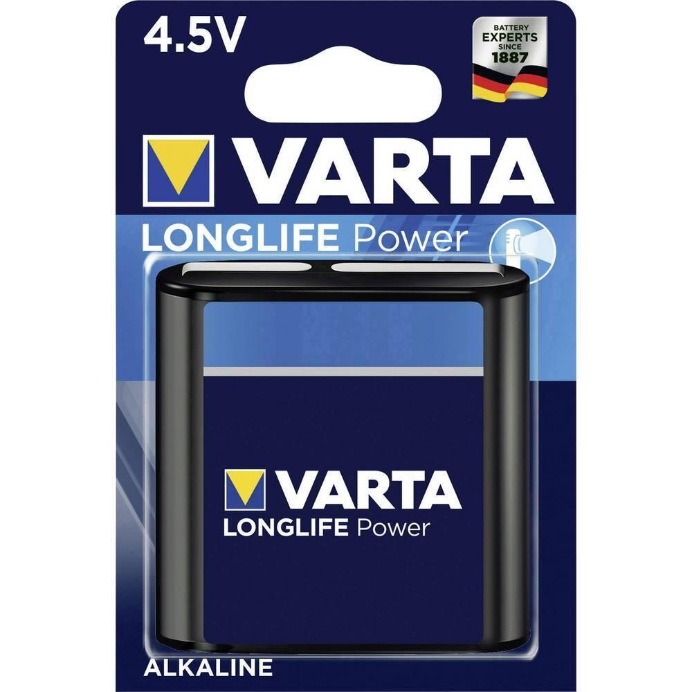 VARTA LONGLIFE Power Flachbatterie 3LR12 4.5V