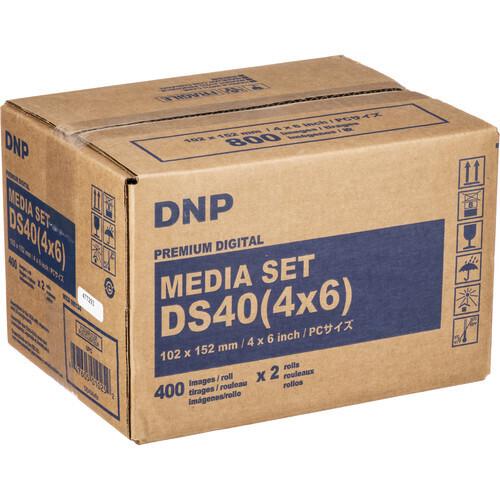 DNP Mediakit für DS 40 10x15cm (4x6Inch) 800 Fotos
