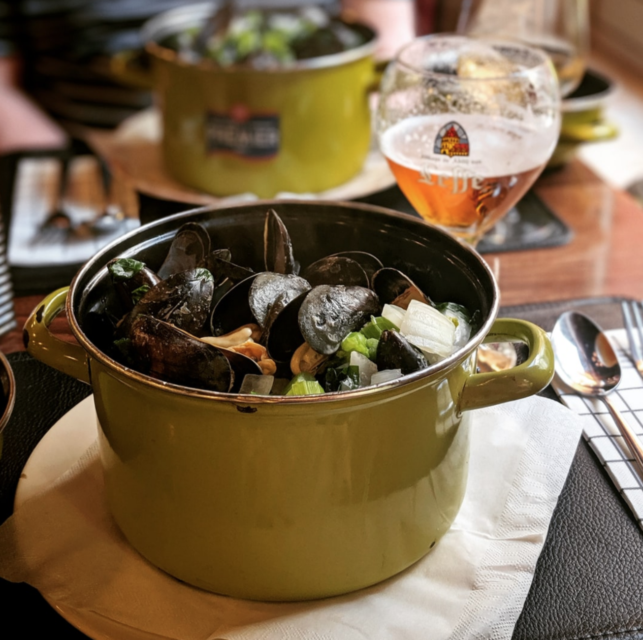 Mussels in a Pot