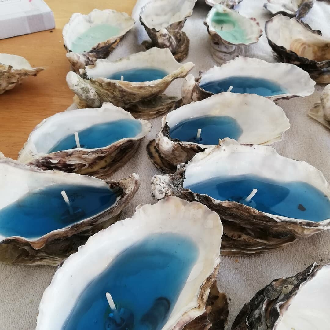 Oyster Candles