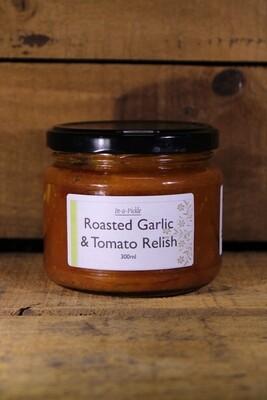 Roasted garlic & Tomato Relish