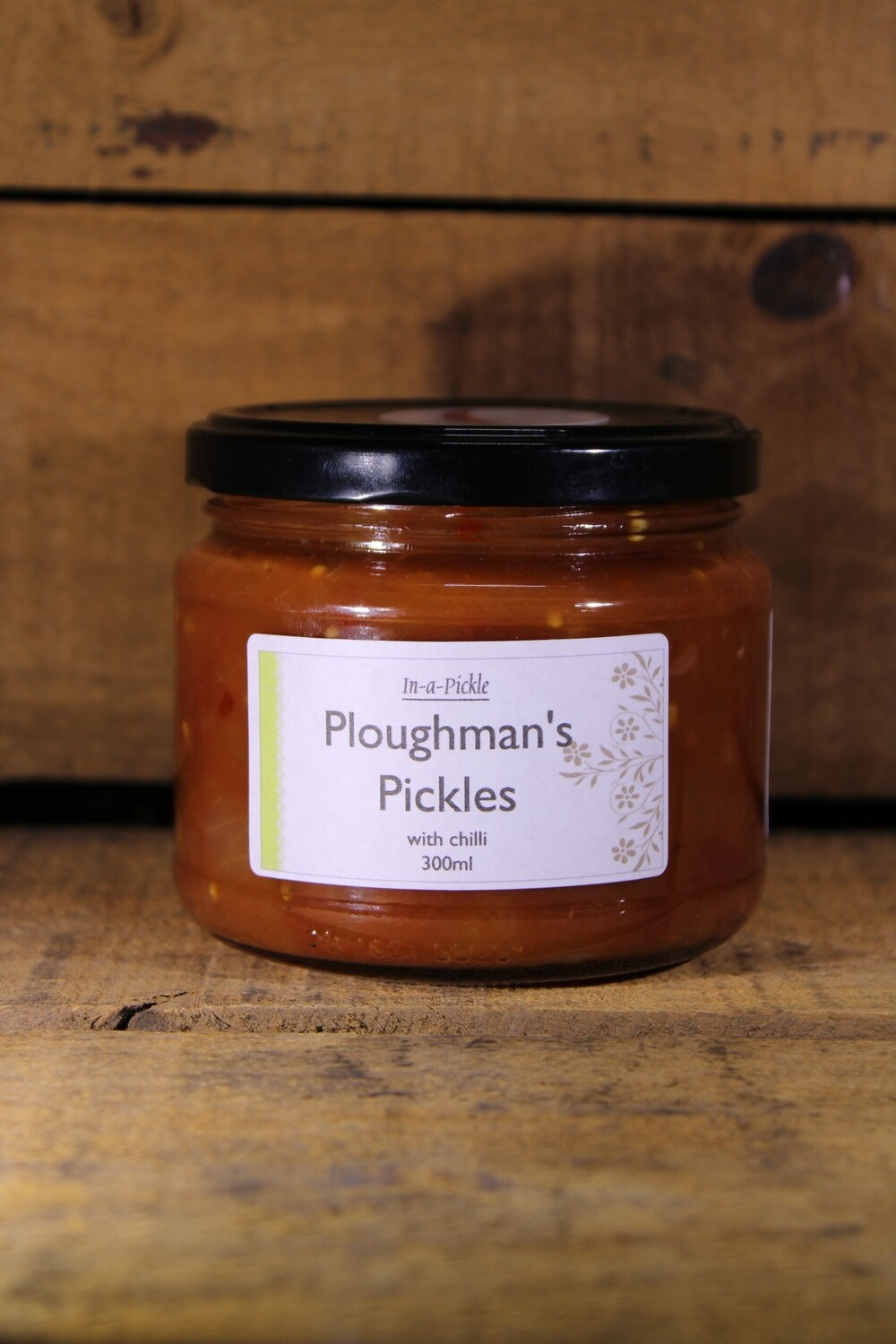 Ploughman's Pickles with Chilli