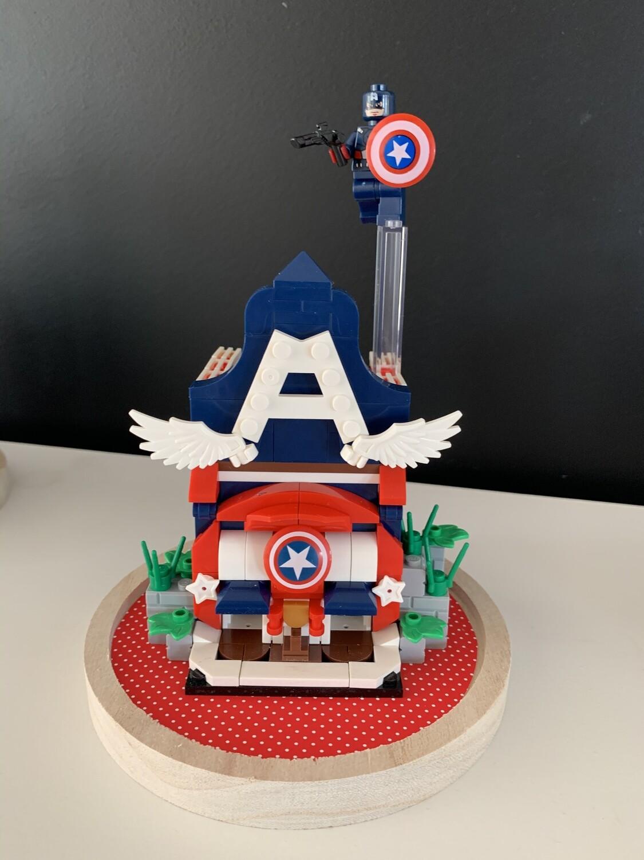 Cloche Super-héros 20 cm