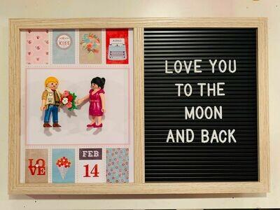 Letterboard  Saint Valentin / Couple