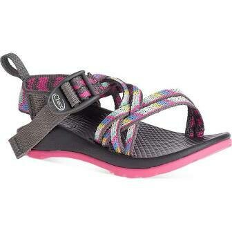 CHACO Kid's ZX/1 Ecotread Fletched Pink Rose