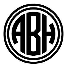Custom Round Monogram with Circle