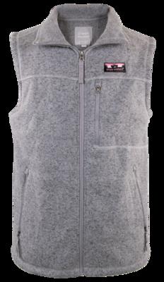 Simply Southern Knit Vest Gray