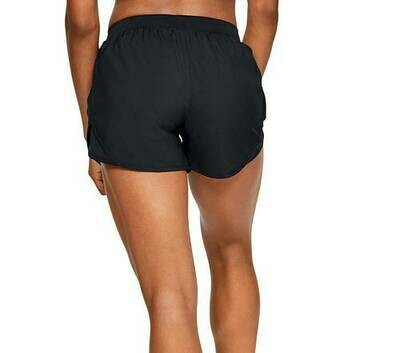Under Armour Women's UA Fly By 2.0 Short Black/Black/Reflective