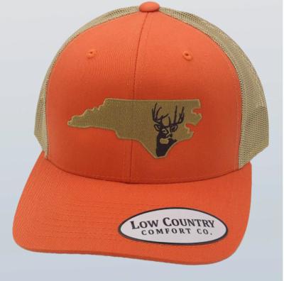 Low Country NC Deer Orange Hat
