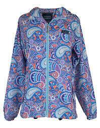 Simply Southern Rain Zip Jacket Paisley