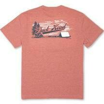 Duck Head Camp Duck Head Short Sleeve T-Shirt Heather Weathered Red