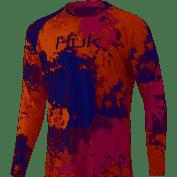 HUK Tie Dye Pursuit Fusion Coral
