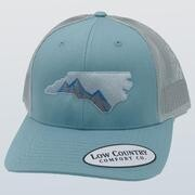 Low Country Hat North Carolina Mountain Smoke Blue/aluminum