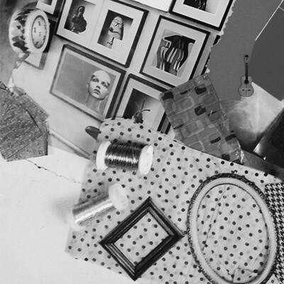 Di., 17. März  |  Wuppertal Ideenexplosion Collage mit Philine Halstenbach