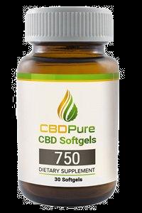 CBDPure 750 Softgels