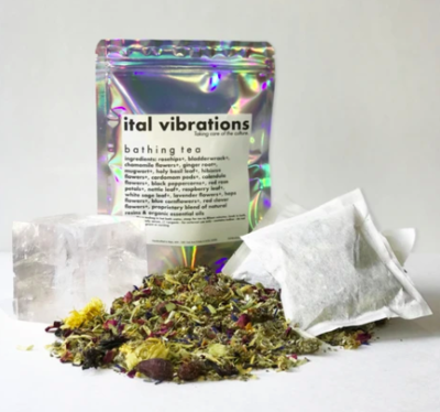 Ital Vibrations Bathing Tea