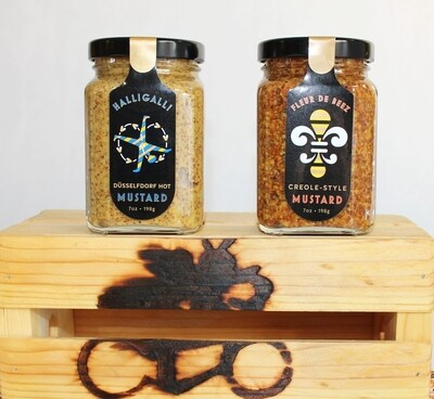 The Beez Kneez Mustard