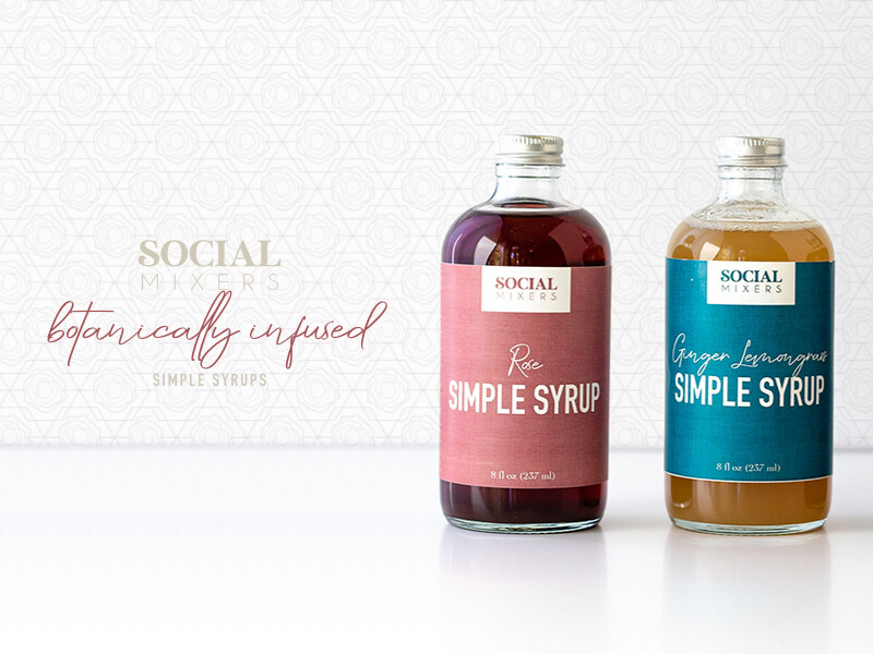 Social Mixers Simple Syrup