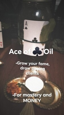 ♣️ Ace of Clubs Oil