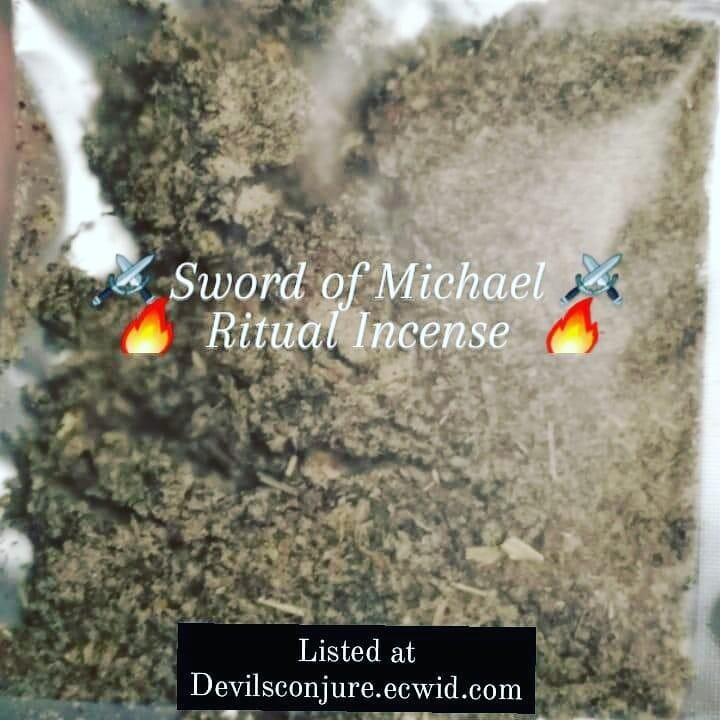 Sword of Michael incense