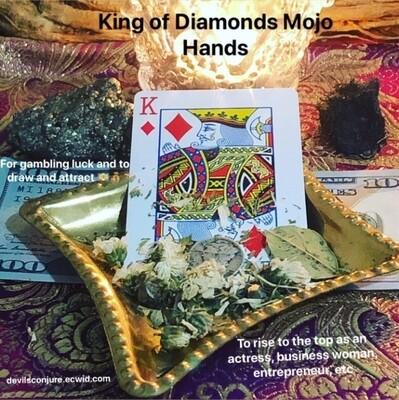 King of Diamonds Mojo Hand