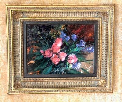 *Original* Art Ron Picou Floral Bouquet Painting